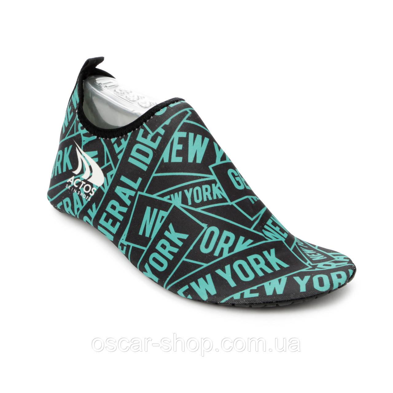 Обувь Actos Skin Shoes (разм. 39) New York Mint / Обувь для плавания / Обувь для спорта / Чешки для йоги / опт
