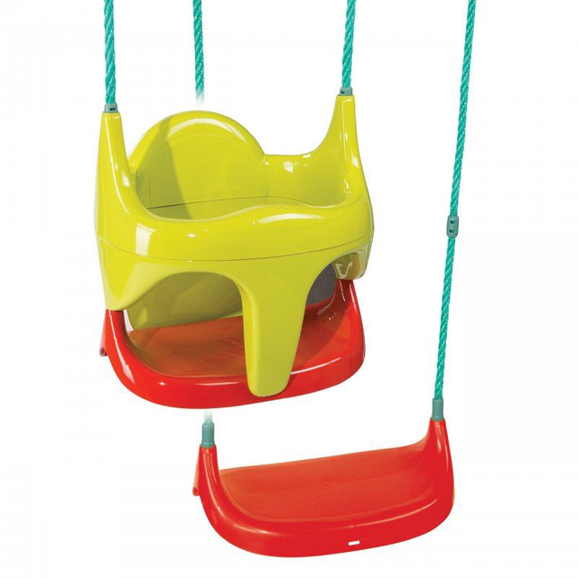 Качель подвесная на тросах детская 2 в 1 Smoby 310194