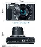 Компактный фотоаппарат Canon PowerShot SX620 HS, фото 4