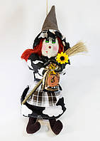 Текстильная кукла  Vikamade Ведьмица  малая 25-30 см, фото 1