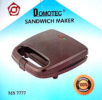 Бутербродница сендвичница Domotec Ms 7777