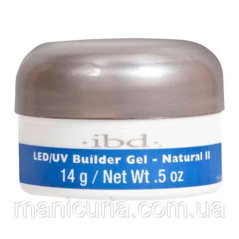 Гель IBD LED/UV Builder Gel Natural II Конструирующий натуральный, 14 г