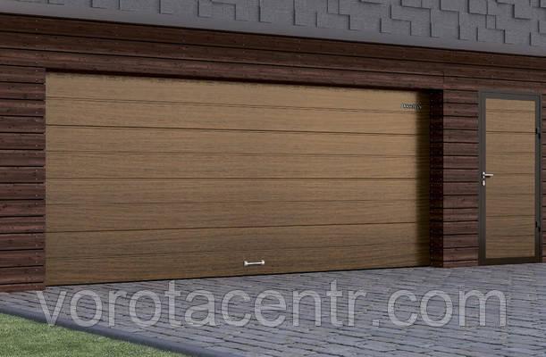 Ворота гаражні секційні RSD01 2200х1800 DoorHan