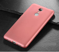 Чехол MAKAVO для Xiaomi Redmi Note 4X / Note 4 Global Version Бампер Матовый ультратонкий Rose Gold