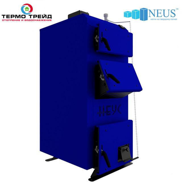 Котлы твердотопливные Неус-ВM (Neus-BМ) c механическим регулятором тяги