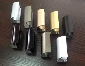 Конструктор для дверей шкафов купе, гардеробных из алюминиевого профиля (4х дверный), фото 2