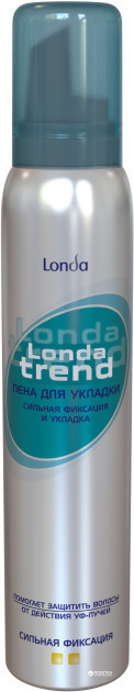 Пена для волос LONDA TREND Сильная фиксация 200 мл