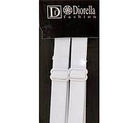 Бретельки трикотажные Diorella белые