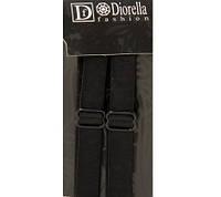 Бретельки трикотажные Diorella черный