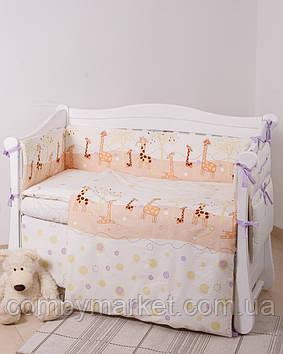 Детская постель Twins Comfort New С-124 Жирафы