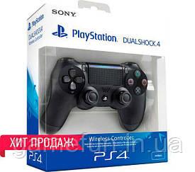 Джойстик PS4 V2 Dualshock 4 Controller Чёрный (Оригинал)