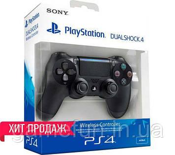 Джойстик PS4 V2 Dualshock 4 Controller Чорний (Оригінал)