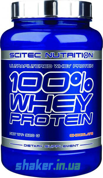 Сывороточный протеин концентрат Scitec Nutrition 100% Whey Protein (920 г) скайтек вей strawberry