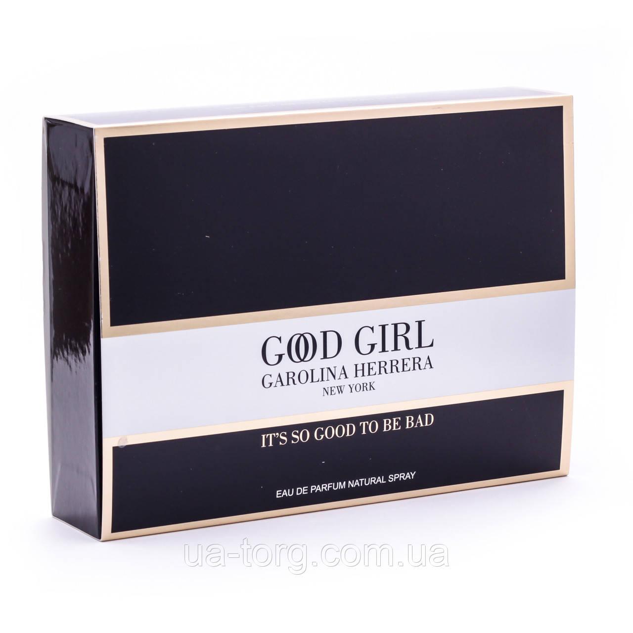 Подарочный набор Carolina Herrera Good Girl EDP 3*25 МЯТАЯ УПАКОВКА
