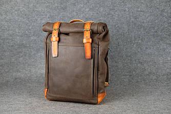 Мужской рюкзак HANKLE H7 |13215| Шоколад+Янтарь