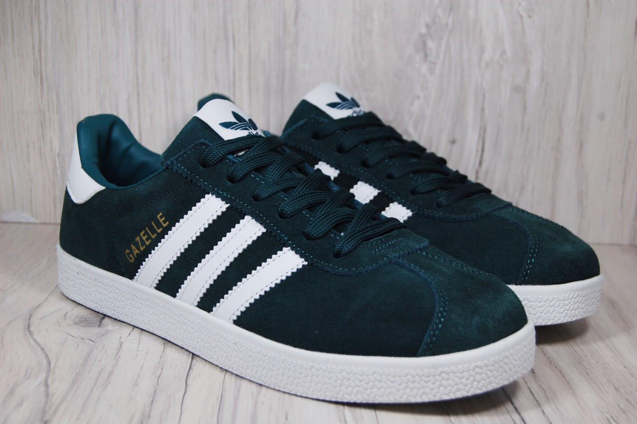 a9929445 Adidas gazelle (адидас газель) мужские кроссовки зеленые,хаки - Promenad в  Киеве