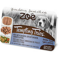 ZOE (Зои) Tempting Trios консервы для собак с курицей 100 гр