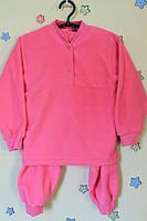 Детская теплая пижама для девочки флис р.22,24,26,28,30,32,34