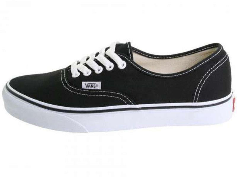 Женские кеды Vans Authentic Black White - Интернет-магазин обуви Parus Shop  в Киеве 97b1c51df77f2