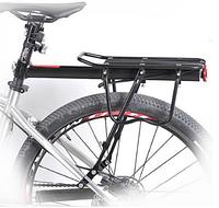 Велосипедный багажник DUUTI Cargo Racks Aluminium (Black), фото 1