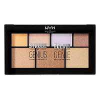 Палетка для стробинга NYX Strobe Of Genius Illuminating Palette (реплика)