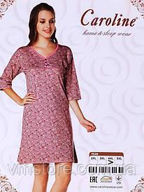 Платье батал 7529