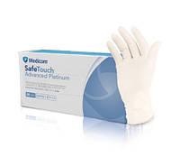 Нитриловые белые перчатки SafeTouch® Platinum White без пудры, р XS