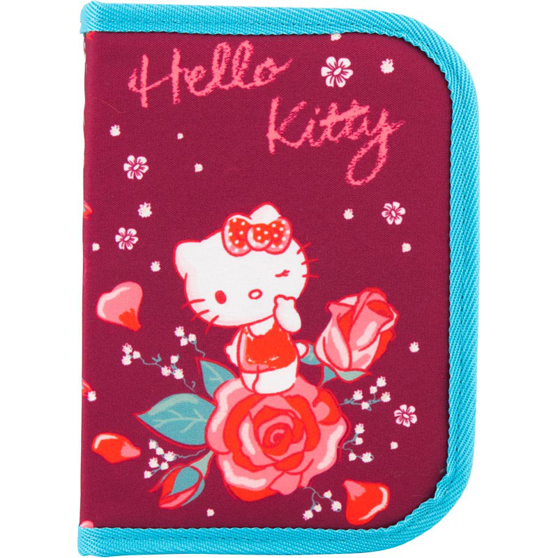 Пенал Kite HK18-621-2 1 отворот Hello Kitty