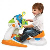 Детский автотренажер Weina 2108 со стульчиком
