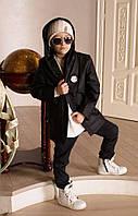 """Куртка детская косуха """"Philipp Plein"""" удлиненная! №286 е.в"""