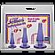 Crystal Jellies Anal Initiation Kit - Purple, фото 2