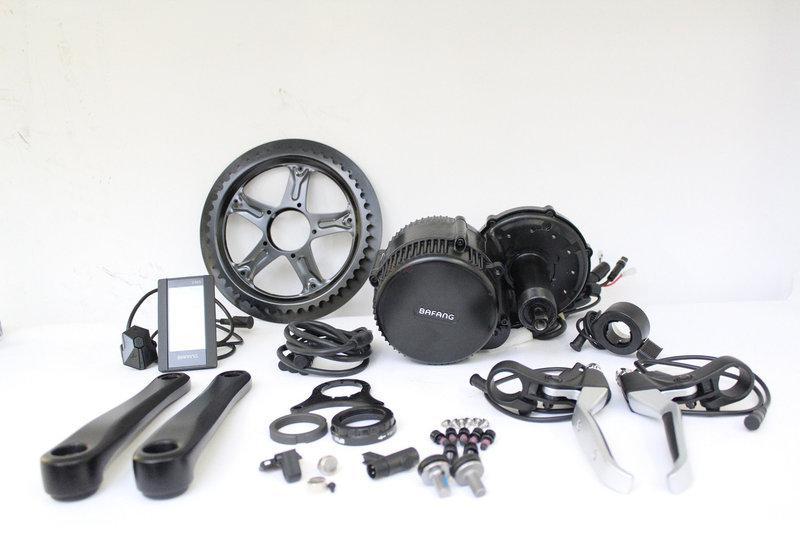 Электромотор 48V 750W дисплей C500  электрический комплект для велосипедов