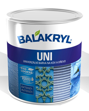 Универсальная матовая краска Balakryl Universal (Uni) 0.7, светло серая