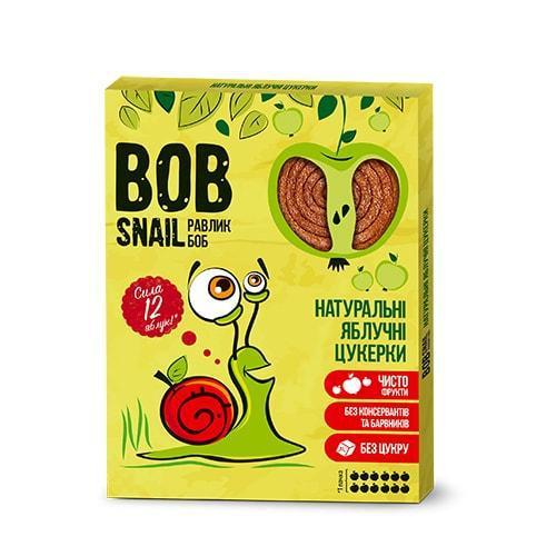 Натуральные Яблочные конфеты BOB SNAIL (РАВЛИК БОБ) 120 грамм