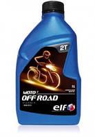 Олива ELF MOTO 2T OFF ROAD напівсинтетичне 1л