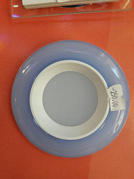 Светильник встраиваемый  LED  panel Rigth Hausen tone 6W 4000k синий