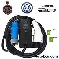 Зарядное устройство для электромобиля Volkswagen e-GOLF Zencar J1772 32A, фото 1