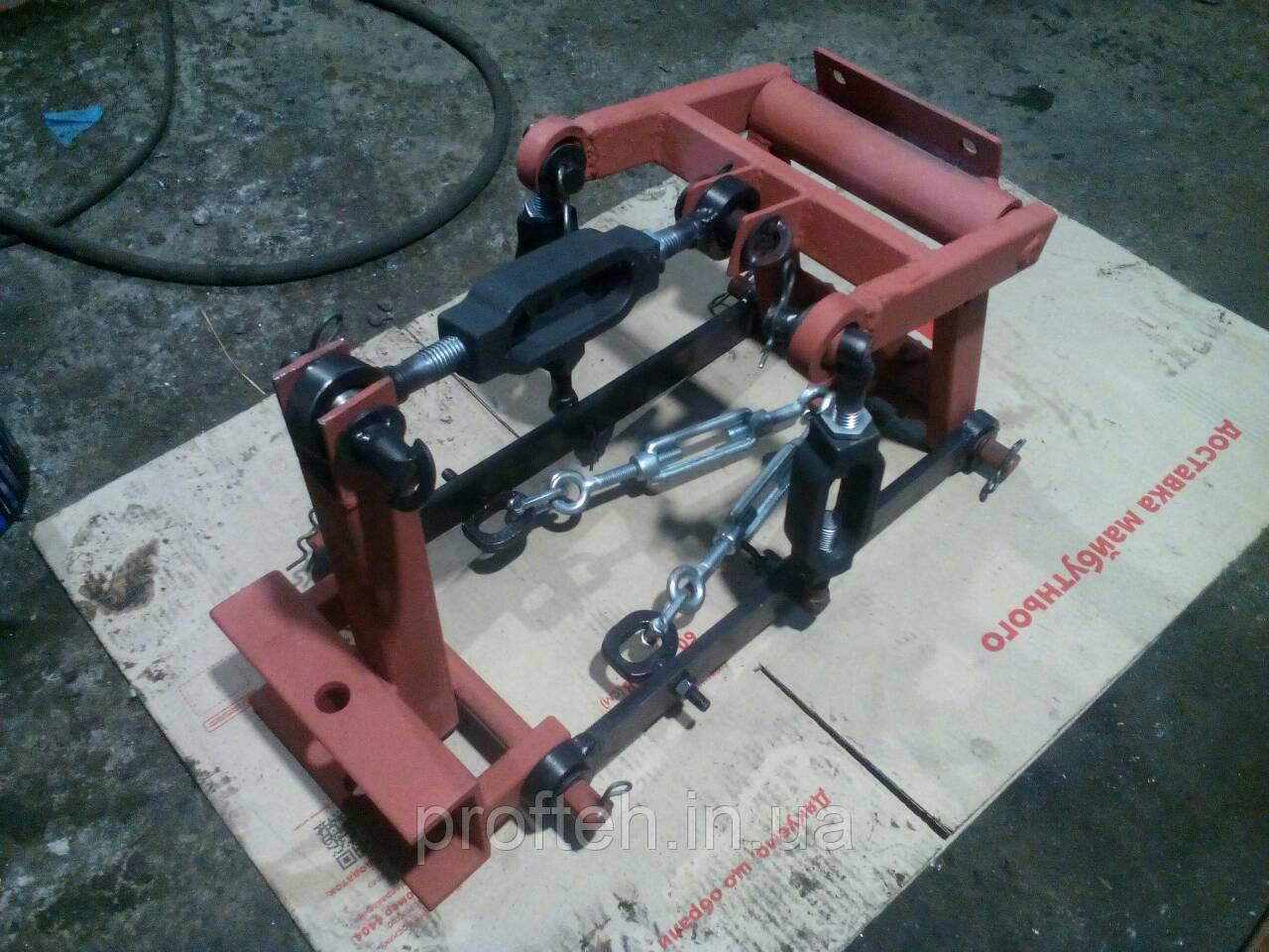 3-х точечная навеска на мототрактор (на яблучках)