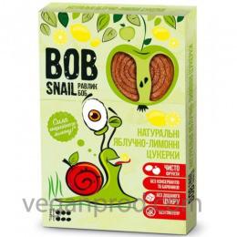 Натуральные яблочно-лимонные конфеты BOB SNAIL (РАВЛИК БОБ) 60 грамм