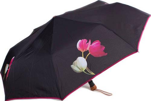 Стильный зонт женский полуавтомат AIRTON (АЭРТОН) Z3651-11 антиветер