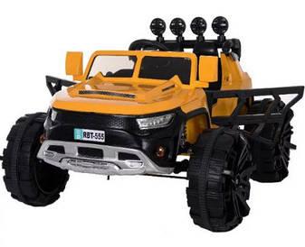Электромобиль внедорожник желтый T-7820