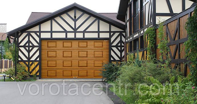Ворота гаражні секційні RSD01 2900х2300 DoorHan