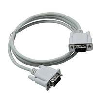 Нуль-модемный кабель RS232 DB9 COM папа-папа 1.4м
