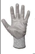 Перчатки  ANTICUT, от порезов, с полиуретановым покрытием