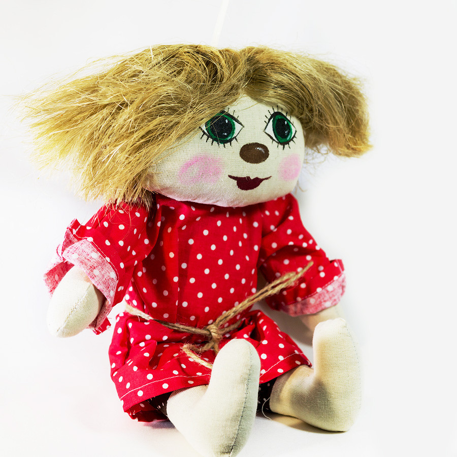 Домовенок Vikamade Кузя малая кукла.
