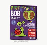 Натуральные яблочно-сливовые конфеты BOB SNAIL (РАВЛИК БОБ) 60 грамм