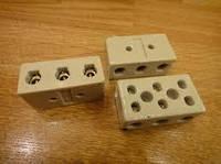 Клеммник керамический 3 line 15А GAV 134