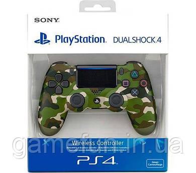 Джойстик PS4 V2 Dualshock 4 Controller камуфляж (Оригинал)