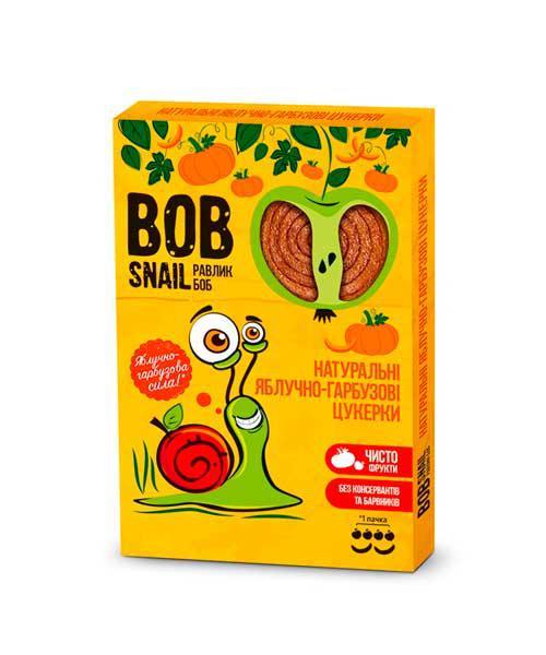 Натуральные яблочно-тыквенные конфеты BOB SNAIL (РАВЛИК БОБ) 60 грамм