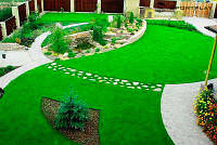 Декоративная искусственная ландшафтная трава для интерьера FUNgrass 25 мм